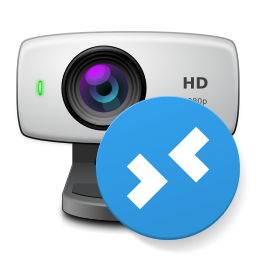 Webcam for Remote Desktop Icon PNG 256x256